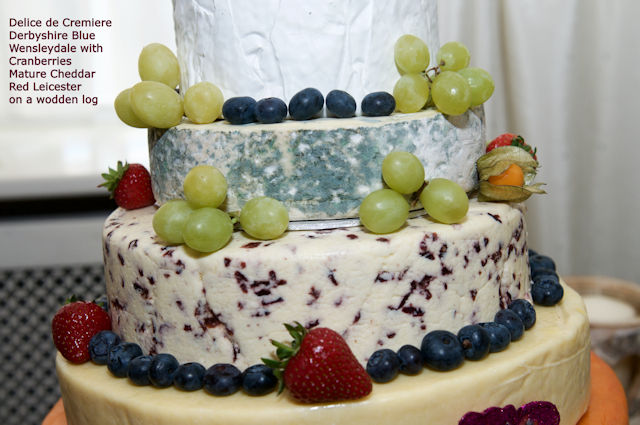 Cheese Wedding Cake Examples 21