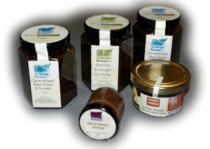 Catherine's Choice Chutneys and Quince Cheese