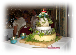 Cheese Wedding Cake from R.P. Davidson, The Cheese Factor, Chesterfield