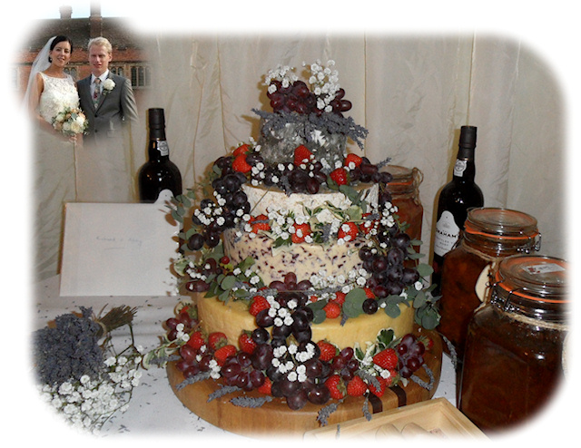 Cheese Wedding Cake Featured-Couples 7