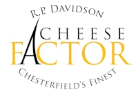 R.P. Davidson Cheese Factor Shop Logo